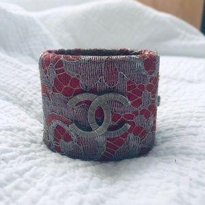 Pink Chanel Cuff